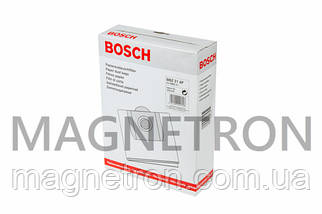 Мешок бумажный (4шт) для пылесосов Bosch Type W BMZ21AF 460448, фото 2