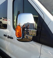 Накладка на зеркала Ford Transit (Форд транзит 2014+ ) ABS, 2шт.