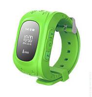Детские умные часы Q50 c GPS Green