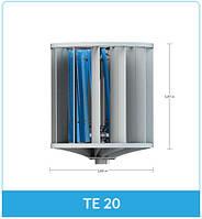 Вертикальный ветрогенератор Turbina TE 20 1.1 (1 кВт 48 В)