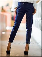 Укороченные брюки скинни 2 цвета