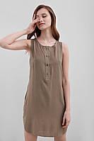 Легкая летняя туника-платье свободного кроя