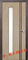 Дверь межкомнатная остекленная Вена (Карпатская ель)