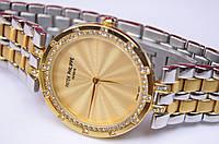 Женские наручные часы Patek Philippe diamond механизм Japan Miyota