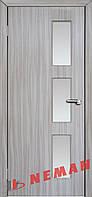 Дверь межкомнатная остекленная Линея