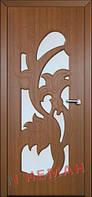 Дверь межкомнатная остекленная Нежность