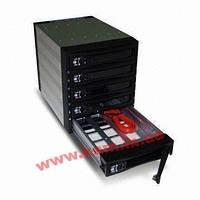 Корзина горячей замены SATA3/ SAS2, черная (Отсеки: 3x 5. (ST-3051SS SATA/SAS -3bay/5HDD black RoHS)