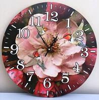 Часы-картина настенные (∅ 33 см) кварцевые XKC /55