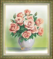 Кремовые розы Б-761