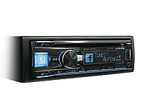 Alpine CD/MP3-проигрыватель, 4х50 Вт, RDS, USB, 3 л вых, RGB подсв., 3-пол. кроссовер, Tunelt, 9-пол эквал.