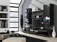 Гостиная Luna  Cama черный/черный глянец