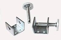 Ножка регулируемая для шкафов купе / H=80 мм / HAFELE