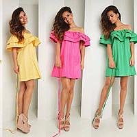 Стильное женское платье лето  Кроме розовой