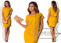 Красивое летнее платье большого размера из льна в разных расцветках i-1515579