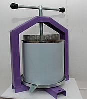 Ручной пресс для сока 10 л (нержавейка) с кожухом.