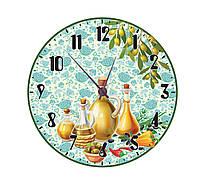 Часы настенные для кухни Оливки