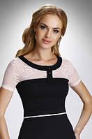 Женская блуза с коротким рукавом. Модель Oktawia Eldar, коллекция весна-лето 2016