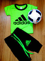 """Детский модный костюм """"Adidas"""" для мальчиков (полномеры) : футболка и штаны (4 цвета)"""