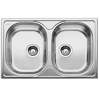 Кухонная мойка Blanco TIPO 8 Compact сталь нерж. матовая (513459)