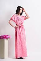 Женские длинные платья больших размеров