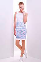 Женское летнее платье с этническим узором