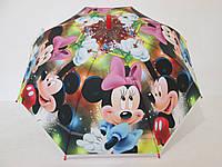 Детский зонт Disney 5-9 лет Минни маус, Микки Маус,