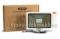 Прожектор светодиодный (Led) с датчиком движения Videx slim sensor 20w 5000k 220v ip65