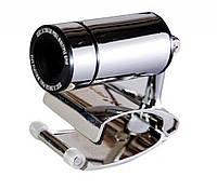 Веб камера с микрофоном Hi-Rali HI-CA008: 640х480, 60 к/с, регулируемая головка, клипса, черный