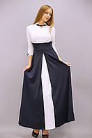 Шикарное длинное платье из тонкого струящегося  трикотажа Размеры: 50, 52, 54, 56