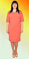 Женское платье с форнитурой на корманах