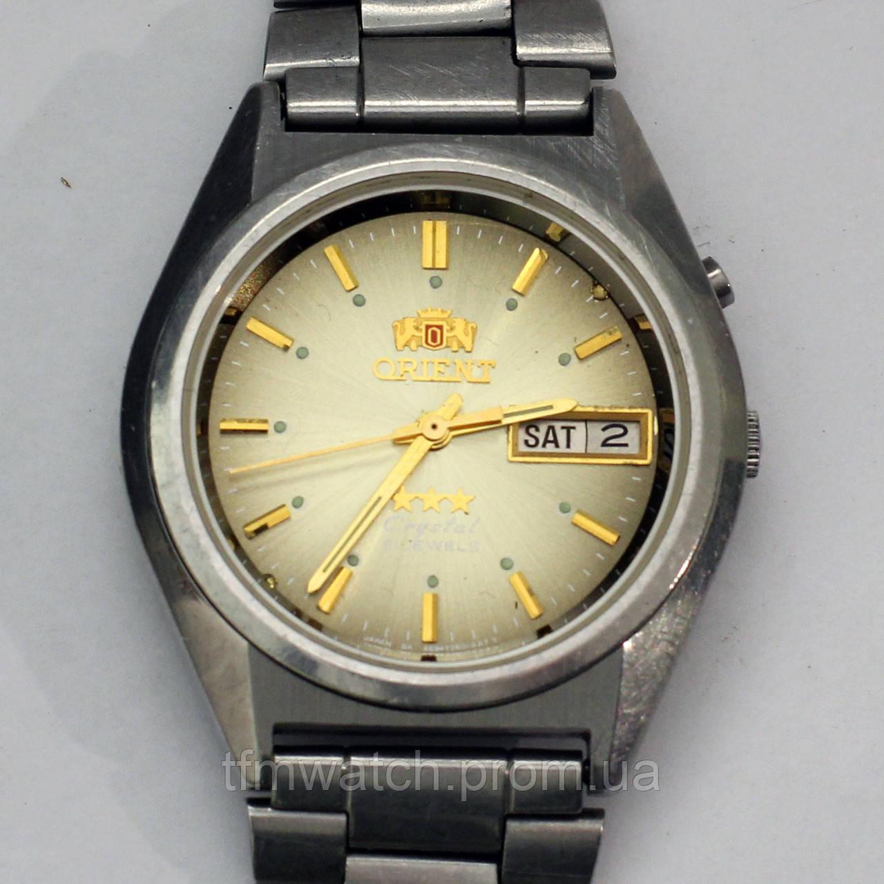 Ориент 3 звезды часы с автоподзаводом Orient