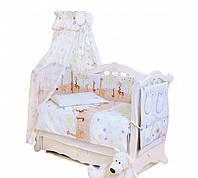 Комплект детской постели Twins Comfort С-024 Жирафы, 8 элементов
