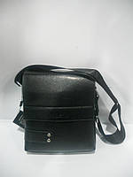 Мужская сумка лето через плечо черная Kadishu длинная короткая ручка недорого 7 км оптом Г1584/01618