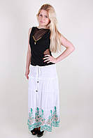 Недорогая легкая летняя женская юбка