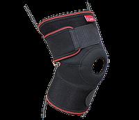 Бандаж на коленный сустав разъемный ReMED, (серый/черный)