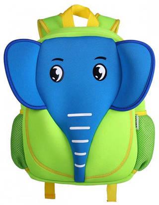 Оригинальный рюкзак, синий слоник на 5 л. Nohoo NH012-2