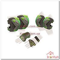 Защита спортивная наколенники, налокотники и перчатки SK-4685BKG