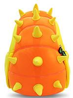 Детский рюкзачок, оранжевый шипастик на 5 л. Nohoo NH022-3