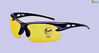 Солнцезащитные очки OULAIOU противоударные, съемные желтые линзы