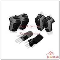 Защита спортивная наколенники, налокотники и перчатки SK-4680GR