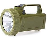 Фонарь прожектор Zuke ZK - 2120 аккумуляторный фонарик