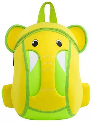 Желтый детский рюкзак, слоник Nohoo NH015-1, 4 л