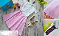 Платье летнее с открытыми плечами разные расцветки SMb265
