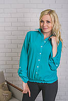 Блуза женская  мятная, фото 1