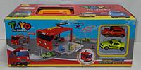 Детская парковка гараж автобус тайо Tayo
