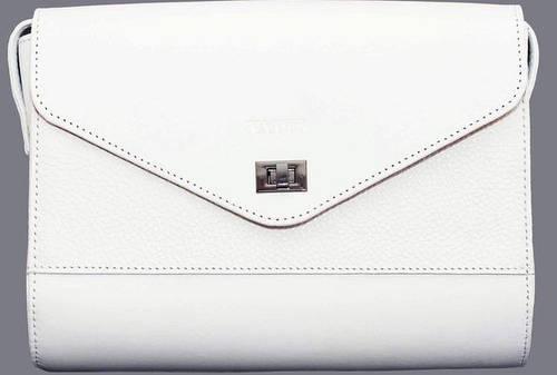Элегантная женская сумка из натуральной кожи VATTO Wk4 F6Sp2, белый