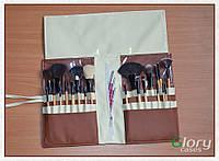 Чехол для кистей на 27 отделений с карманом на молнии
