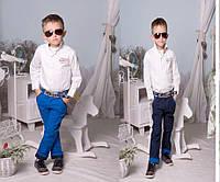 Стильные брюки на мальчика № 2191 е.в