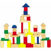 Детский деревянный конструктор 50 дет. ДО49