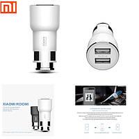 XiaoMI Автомобильный адаптер с FM-трансмиттером /white/